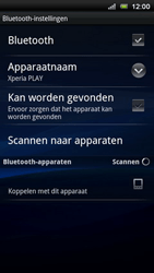 Sony Ericsson R800 Xperia Play - Bluetooth - headset, carkit verbinding - Stap 7