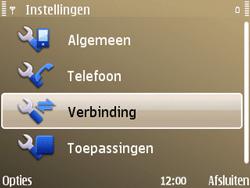 Nokia E72 - Internet - handmatig instellen - Stap 6