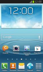 Samsung Galaxy Express - Apps - Einrichten des App Stores - Schritt 1