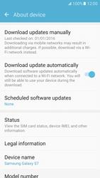 Samsung Galaxy S7 - Software - Installing software updates - Step 7