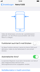 Apple iPhone 6 - iOS 11 - Notfall – SOS - 5 / 7