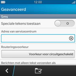 BlackBerry Q5 - SMS en MMS - Handmatig instellen - Stap 10