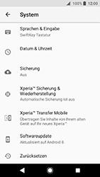 Sony Xperia XA2 - Fehlerbehebung - Handy zurücksetzen - 7 / 12