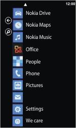 Nokia Lumia 800 - E-mail - Sending emails - Step 3