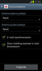 Samsung I8260 Galaxy Core - E-mail - Handmatig instellen - Stap 17