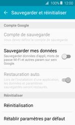 Samsung J120 Galaxy J1 (2016) - Appareil - Réinitialisation de la configuration d