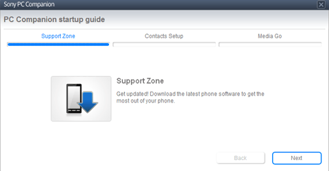 Sony Xperia Z1 - Software - Installing PC synchronisation software - Step 7
