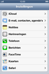 Apple iPhone 4 (iOS 6) - e-mail - handmatig instellen - stap 3