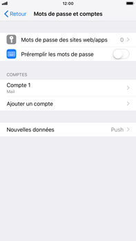 Apple iPhone 8 Plus - iOS 12 - E-mail - Configuration manuelle - Étape 15