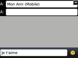 BlackBerry 9320 - Contact, Appels, SMS/MMS - Envoyer un MMS - Étape 9
