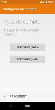 Crosscall Core M4 - E-mails - Ajouter ou modifier un compte e-mail - Étape 11