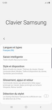Samsung Galaxy Note 10 - Prise en main - Comment ajouter une langue de clavier - Étape 8