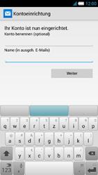 Alcatel Idol S - E-Mail - Konto einrichten - 1 / 1
