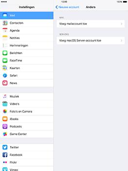 Apple iPad mini 4 iOS 10 - E-mail - e-mail instellen: POP3 - Stap 6