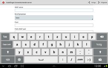 Samsung P5100 Galaxy Tab 2 10-1 - E-mail - Handmatig instellen - Stap 8