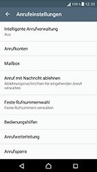 Sony Xperia XZ - Anrufe - Rufumleitungen setzen und löschen - Schritt 5