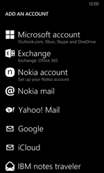 Nokia Lumia 630 - E-mail - Manual configuration POP3 with SMTP verification - Step 7