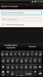 HTC One X - E-mail - Configuration manuelle - Étape 6