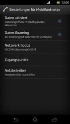 Sony Xperia T - Internet und Datenroaming - Deaktivieren von Datenroaming - Schritt 6