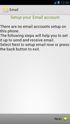 Alcatel One Touch Idol - E-mail - manual configuration - Step 10