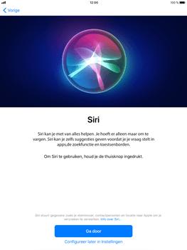 Apple iPad Mini 3 - iOS 11 - Toestel - Toestel activeren - Stap 38