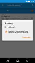Sony Xperia M4 Aqua - Ausland - Auslandskosten vermeiden - 0 / 0