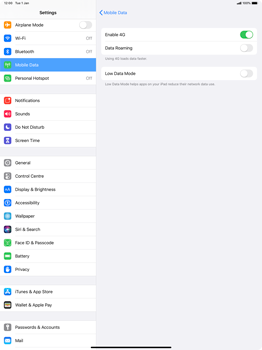 Apple iPad Pro 12.9 (2nd gen) - iPadOS 13 - Network - How to enable 4G network connection - Step 6
