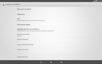 Sony Xperia Tablet Z2 LTE - Logiciels - Installation de mises à jour - Étape 6