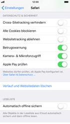 Apple iPhone 8 - iOS 11 - Neue Datenschutz- und Sicherheitsfunktionen für Safari aktivieren - 1 / 1