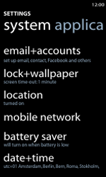 Nokia Lumia 800 / Lumia 900 - Internet and data roaming - Disabling data roaming - Step 4