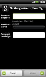 HTC Sensation XL - Apps - Konto anlegen und einrichten - 9 / 18