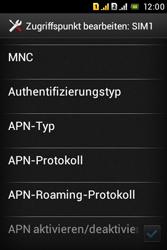 Sony Xperia Tipo Dual - MMS - Manuelle Konfiguration - Schritt 17