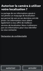 Nokia Lumia 800 - Photos, vidéos, musique - Prendre une photo - Étape 4