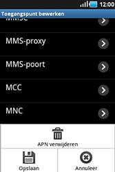 Samsung S5830 Galaxy Ace - Internet - handmatig instellen - Stap 10