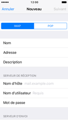 Apple iPhone 5s iOS 10 - E-mail - configuration manuelle - Étape 10