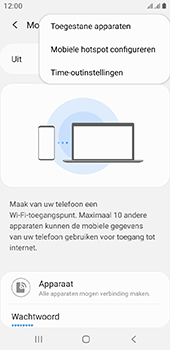 Samsung galaxy-a6-sm-a600fn-ds-android-pie - WiFi - Mobiele hotspot instellen - Stap 8