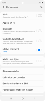 Samsung Galaxy A51 - Aller plus loin - Désactiver les données à l'étranger - Étape 5