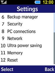 Samsung B550H Xcover 550 - Internet - Manual configuration - Step 4