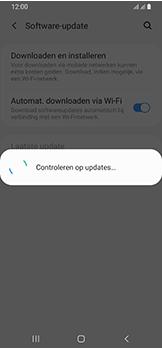 Samsung Galaxy A40 - software - update installeren zonder pc - stap 6