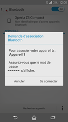 Sony Xperia Z3 Compact - Bluetooth - Jumelage d