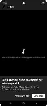Samsung Galaxy A51 5G - Photos, vidéos, musique - Ecouter de la musique - Étape 6