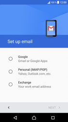 Sony Sony Xperia X (F5121) - E-mail - Manual configuration (gmail) - Step 8