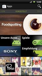 Sony Ericsson Xperia X10 - Apps - Herunterladen - Schritt 4