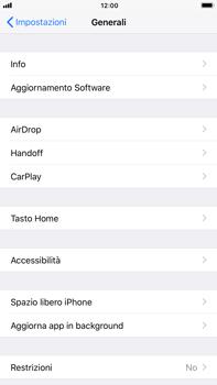 Apple iPhone 6 Plus - iOS 11 - Applicazioni - Come disinstallare un