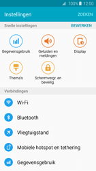 Samsung Galaxy S6 Edge - Bluetooth - Aanzetten - Stap 3