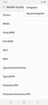 Samsung Galaxy A50 - Internet - configuration manuelle - Étape 19
