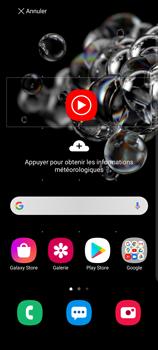 Samsung Galaxy S20 Ultra - Applications - Personnaliser l