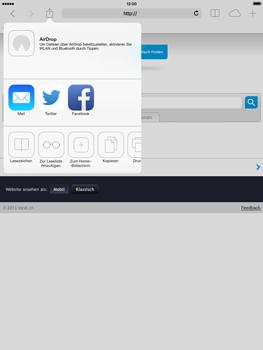 Apple iPad mini iOS 7 - Internet und Datenroaming - Verwenden des Internets - Schritt 14