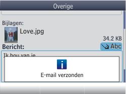 Nokia Asha 302 - E-mail - E-mails verzenden - Stap 17