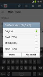 Samsung I9505 Galaxy S4 LTE - E-Mail - E-Mail versenden - Schritt 15